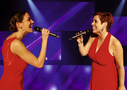 Das komplette Ensemble mit ''We are the Champions'' aus ''We Will Rock You''